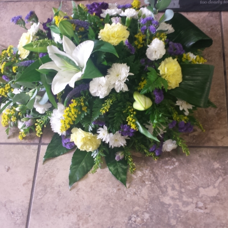 Teardrop Funeral wreath, Sympathy