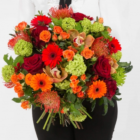 autumn rise bouquet, Christmas Bouquet, Anniversary