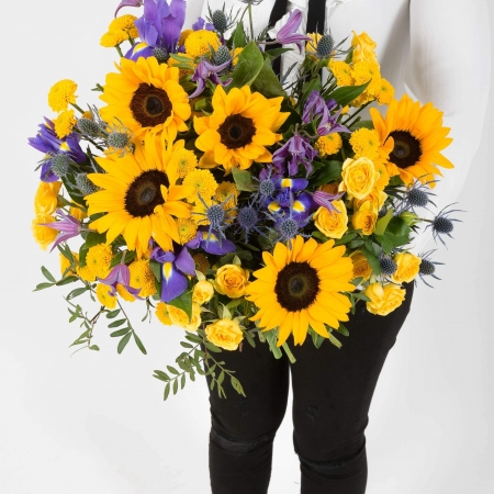 Sunshine Delight Bouquet, Happy Birthday Bouquet, Thank you, New Baby,