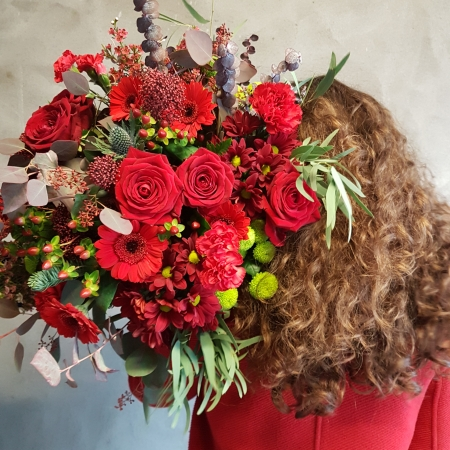 christmas reds bouquet